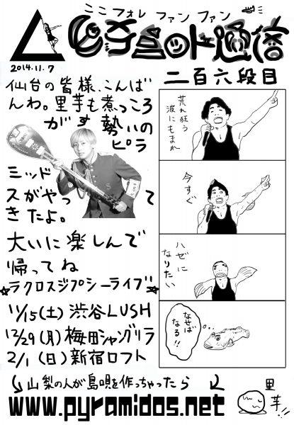 Vol.206のピラ通